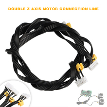 3D Printer Parts 1.5m Stepper Motor Double Z-axis Cable Line For CR-10 CR-10S CR-10X CR-10PRO Ender-3 2pcs lot stepper motor 42hs48 to control x y z axis for creatbot 3d printer suitable for dm dx series
