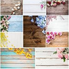 Фон для фотосъемки с изображением деревянных досок цветов на день рождения фон для детской фотосъемки с изображением торта