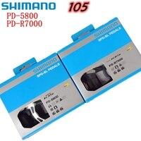 Shimano 105 PD R7000 R5800 велосипеда дороги самоконтрящаяся педаль СПД педали велосипеда с SH11 клип бутсы Велоспорт Acessórios