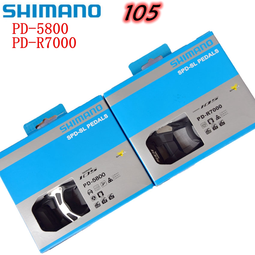 Shimano 105 PD R7000 R5800 Road Bike Self-Locking Pedal SPD Bicycle Pedals with SH11 Clip Cleats Cycling acessorios Shimano 105 PD R7000 R5800 Road Bike Self-Locking Pedal SPD Bicycle Pedals with SH11 Clip Cleats Cycling acessorios