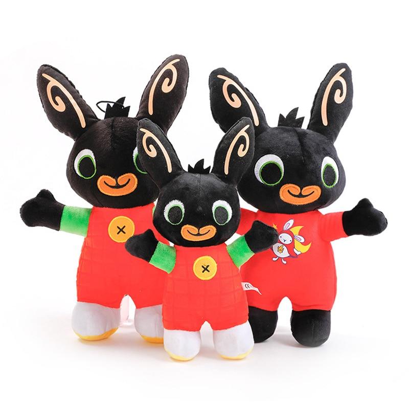 Bing Bunny Plush Toy Pendant Clip Keychain Bing Bunny Doll Toy Hoppity Voosh Stuffed Animal Pando Rabbit Toy For Christmas Gifts