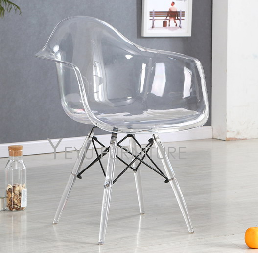 Transparent Clear Modern Design Dining Furniture Chair Popular Furniture  Chairs Famous Design Modern Home Furniture Cafe