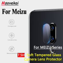 For MEIZU 16th Plus 16X M15 Plus Pro 6s Plus Pro7 M6 Note E3 M3 S Back Camera Lens Tempered Glass Clear Screen Protector Film m15 plus 6 64gb