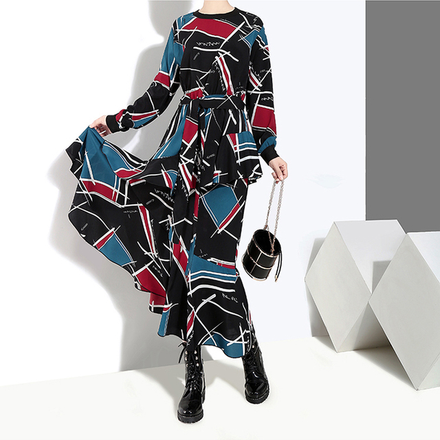 VeryYu 2020 Korean Style Long Blue Party Dress Fashion  VeryYu the Best Online Store for Women Beauty and Wellness Products