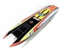Genesis BE1122 Catamaran Electric Brushless Fiberglass RC Racing Boat with 3674 brushless motor KV2075, 120A ESC with BEC