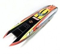 Genesis BE1122 Catamaran Electric Brushless Fiberglass RC Racing Boat with 3674 brushless motor KV2075, 120A ESC with BEC