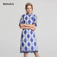 Bettolvis 2017 Designer Summer Dress Women S Sleeveless Vest Fruit Pineapple Printed Ruffles Sheath Cute Mermaid