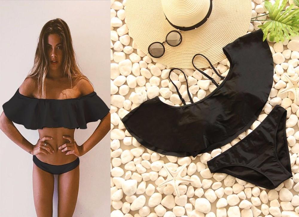 Swimwear Women Swimsuit Push Up Swimwear Female 19 Sexy Bandeau Bikini Ladies Brazilian Beach Bathing Suit bandage Bikini Set 10