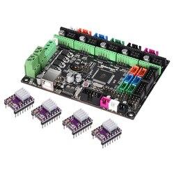 Placa de impressora 3d mks gen l v1.0 controlador pcb reprap mega 2560 r3 rampas 1.4 1.6 suporte tmc2208 tmc2130 a4988 drv8825 driver