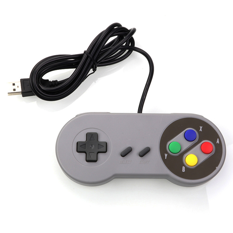 ANBES USB Control Joystick Gamepad Controller for Nintendo SNES Game Pad for Windows PC MAC Gaming Controller