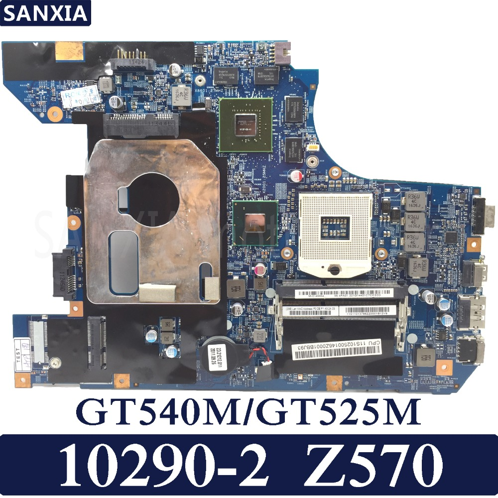 KEFU 10290-2 48.4PA01.041 LZ57 MB Laptop motherboard for Lenovo Z570 Test original mainboard GT540M/525M Graphics card chp 525m