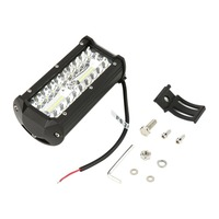 40pcs 8D 7 inch 216W LED Light Bar Flood Spot Combo Beam Waterproof Off Road Car Truck DC 10 30V LED Work Light Bar new