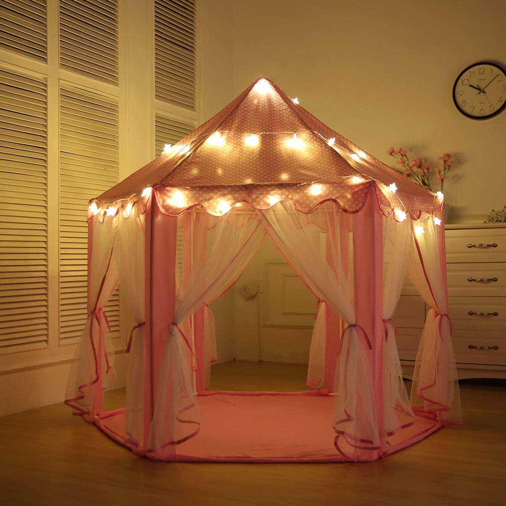 Children's Play Tent Teepee Gift Princess Castle Tipi Toy Tents Kids Inflatable Play House Lodge Balls Pool Cottages Best Gift  best selling child toy tents tipi kids game house girl princess play tent teepee children house indoor outdoor toy tents