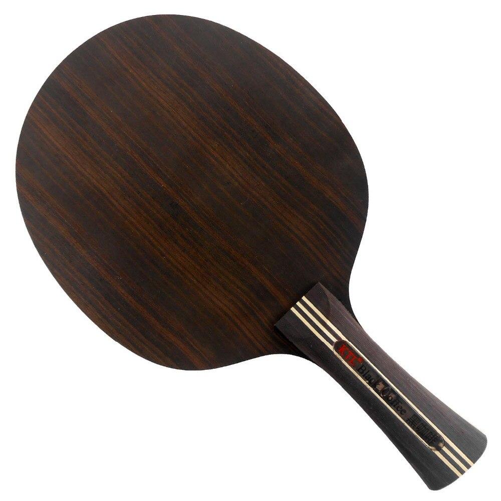 KTL Ebony 7 Black Coffee Transformer Shakehand Table Tennis Blade hrt ebony nct v ebonyv ebony v table tennis pingpong blade