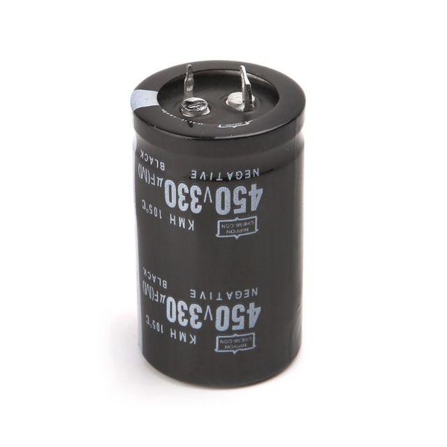 Soldador eléctrico 450V 330uF condensador electrolítico de aluminio volumen 30x50 pies duros