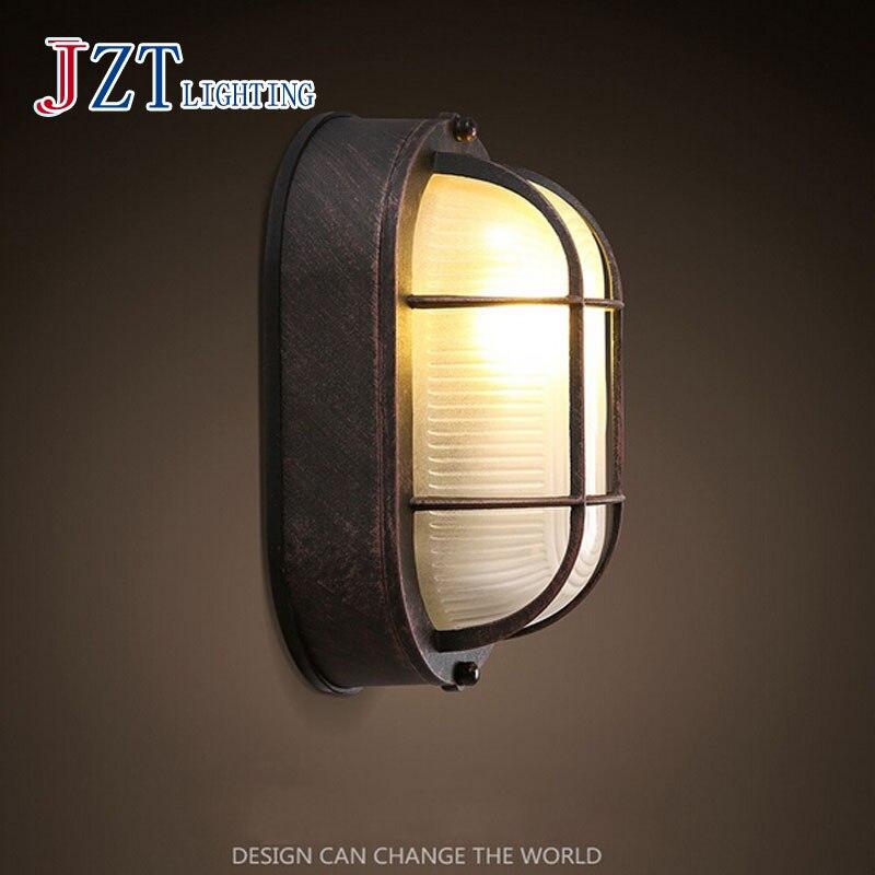 T Einfache Wand Kreative Mode Lampen LOFT Retro Moderne eisen Lichter Led lampe Modernen Balkon Schlafzimmer Home Beleuchtung Dhl freies-in LED-Innenwandleuchten aus Licht & Beleuchtung bei Shenzhen Alex TEC Shop