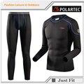 2017 a estrenar alta calidad underwear set hombres de invierno térmica thermo underwear suave estiramiento cómodo warm long johns masculinos