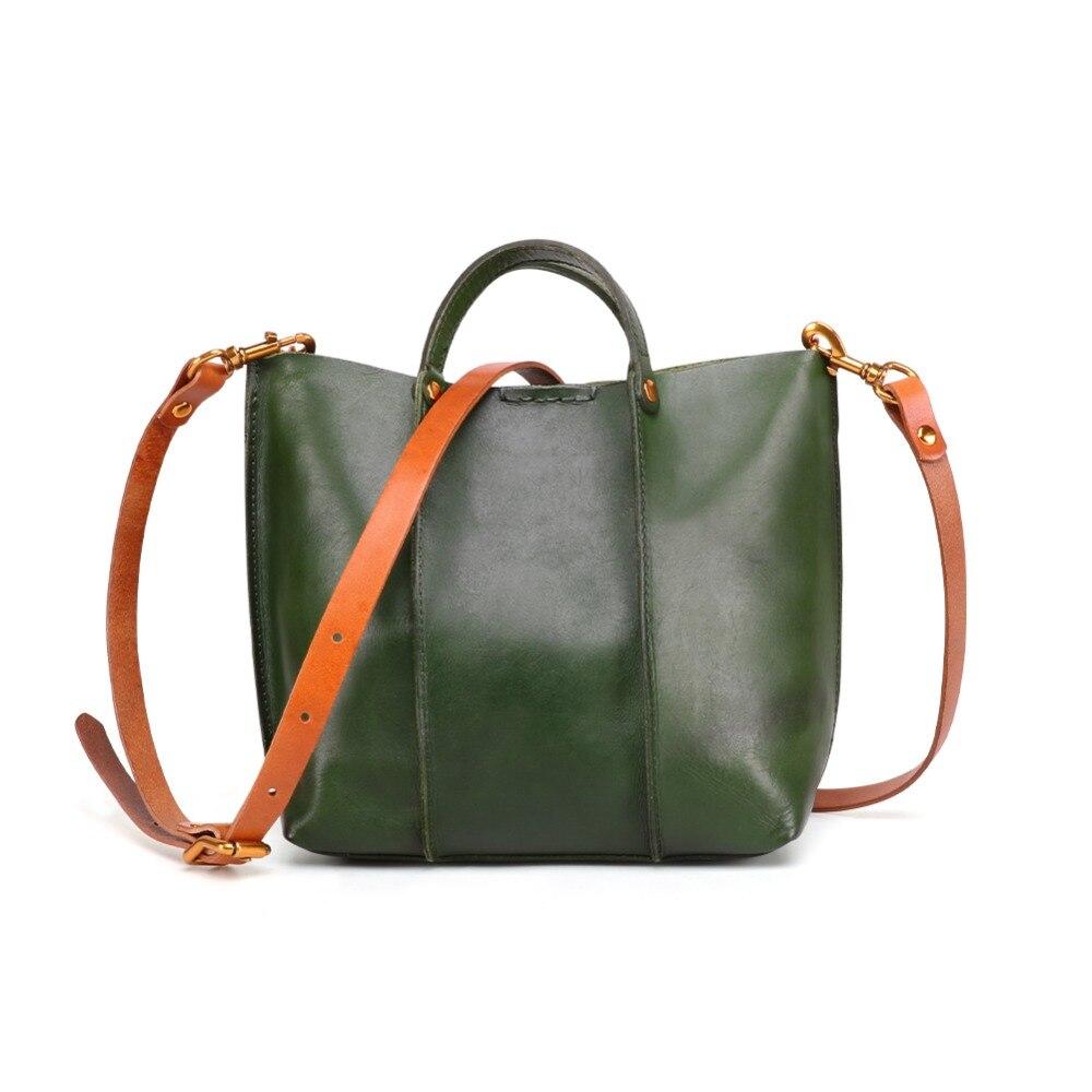 JOYIR Fashion Women Bag Genuine Leather Handbags Women Shoulder Bag Small Flap Crossbody Bags for Women