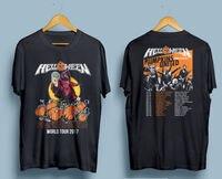 Helloween PUMPKINS UNITED World Tour 2017 T Shirt Men Two Sides Cotton Casual Gift Tee USA