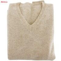 Мягкий кашемир эластичный свитера и пуловеры для Для женщин Осень зимний свитер v-образным вырезом женский джемпер 5XL трикотажные Лидеры бр...