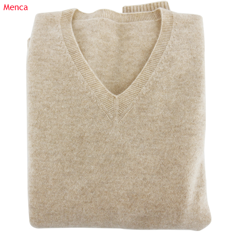 Soft Cashmere Elastic Sweaters And Pullovers For Women Autumn Winter Sweater V-Neck Female Jumper Knitted Brand Tops