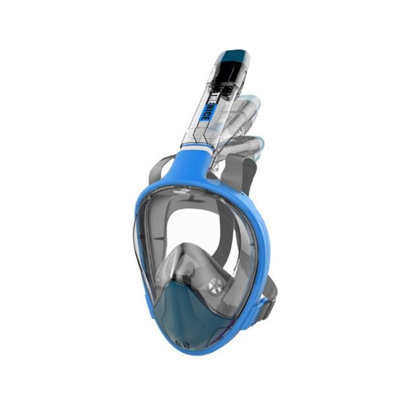 Haute définition vue masque de plongée natation masque de plongée ajustement confortable, étanche, étanche, miroir transparent