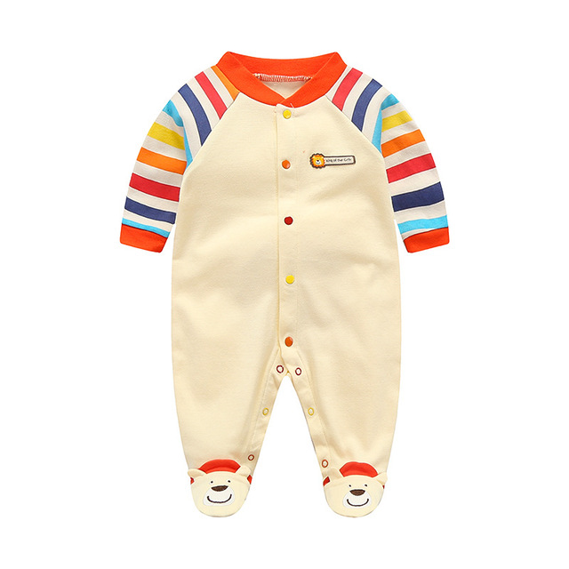 865c1b815 0 12M Baby Rompers Newborn Baby Clothes Baby Boy Romper Long Sleeve ...