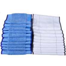 Washable Wet and Dry Mopping Pads for iRobot Braava 380t 380 Cloths 10 +