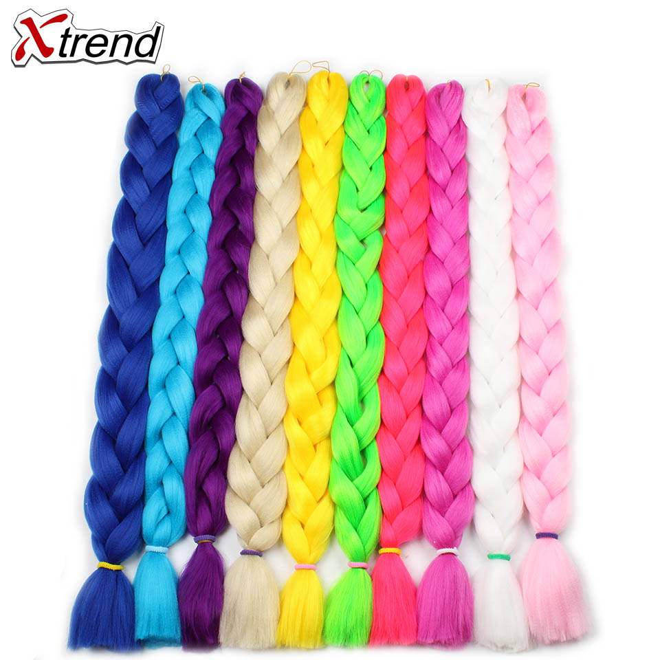 Jumbo Braids Merisi Hair 82 Inch Jumbo Braids Synthetic Kanekalon Red Purple Green 29 Colors Available In Hair Extensions For Black Women