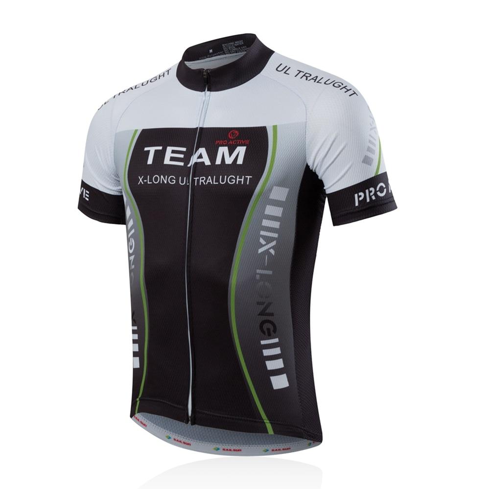 2018 Été Cyclisme Jersey vtt Jersey Mountain Bike Jersey Hommes équipe Chemise Vélo Vêtements Maillot Ropa Ciclismo Vêtements d'équitation dans Maillots de cyclisme de Sports et loisirs