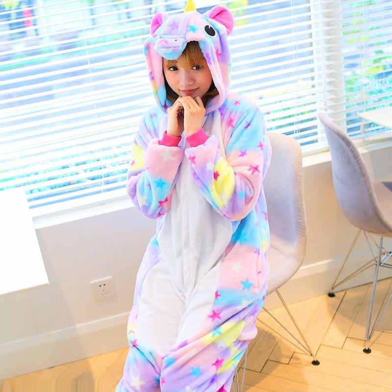 0dc36d4e2c Adult Children Unicorn Onesies Unicorn Pajamas Animal Pajamas Onesies Adult  Animal Onesies Women Men Boys Girls