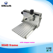 New design 3040 CNC lathe machine assembled motor and limit switch CNC 3040 frame