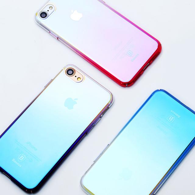 Luxury Gradient Blue Ray Light Ultra Thin Case – Apple iPhone