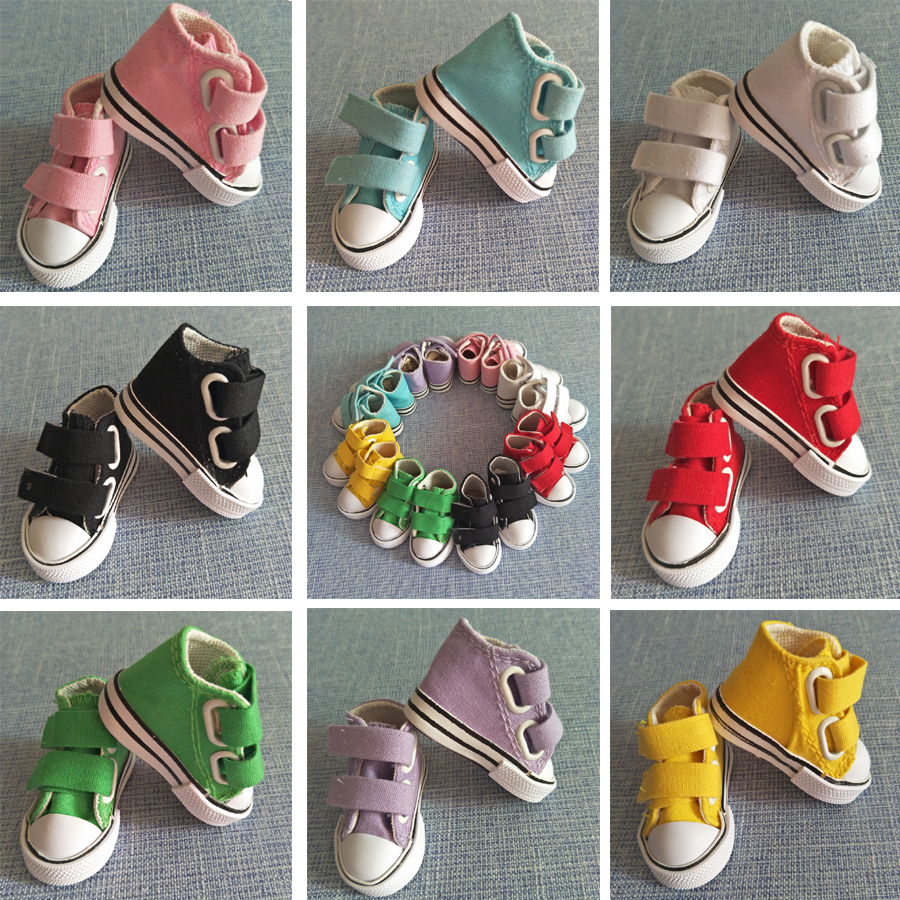 7.5cm Canvas Jean <font><b>Doll</b></font> Boots For Mini Toy <font><b>Shoes</b></font> <font><b>Bjd</b></font> <font><b>Doll</b></font> <font><b>Shoes</b></font> for Russian handmade DIY toys <font><b>shoes</b></font> image