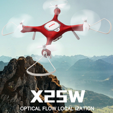 SYMA X25W Optical Flow RC Drone with 720P HD Camera Fixed Height Real Time Aerial Photograph RC Quadcopter Helicopter