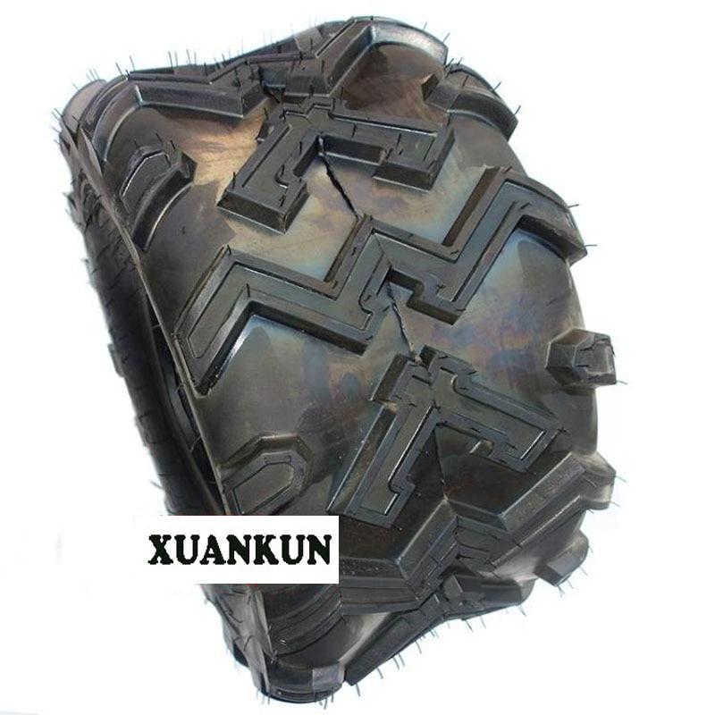 XUANKUN ATV 10-Inch Vacuum Wheel Tires Before 22X8-10 Inch Tires After 22X11-10 Inch Tires xuankun atv 19x7 8 inch tires 18x9 50 8 inch vacuum tires aluminum alloy wheels tires