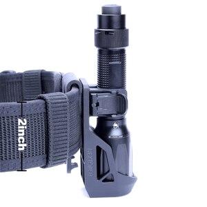 "Image 4 - NEXTORCH 360 Degree Tactical Flashlight Holster Angle Rotatable Tactical  Duable Flashlight Holder V5 for 1"" 1.25"" Flashlight"