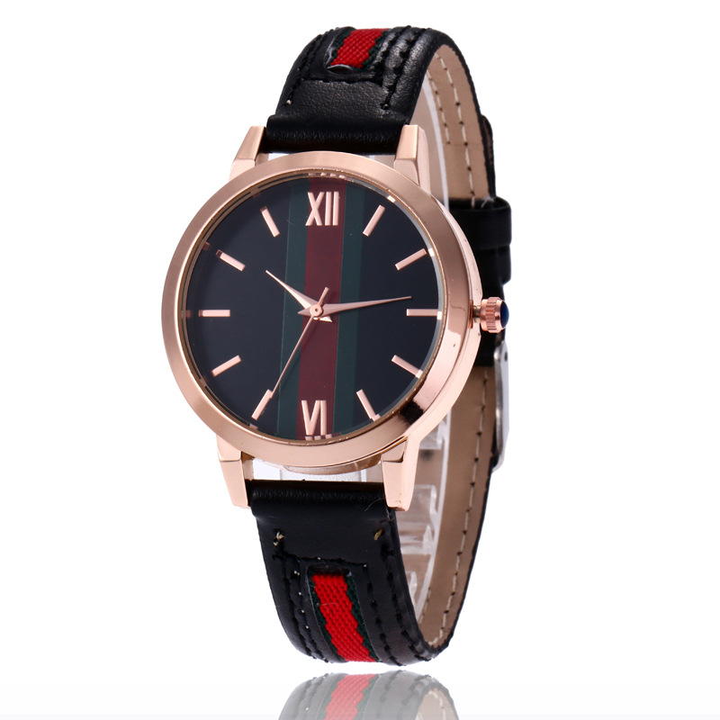 Luxe merk vrouwen horloges 2018 mode casual lederen quartz horloge - Dameshorloges