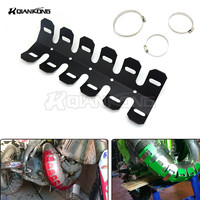 Motorcycle Dirt Bike Exhaust Pipe Leg Protector Heat Shield Cover For SUZUKI DRZ 70 125 250