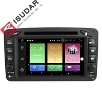Wholesales 2 Din Android 8 0 7 Inch Car DVD Player For Mercedes Benz CLK W209