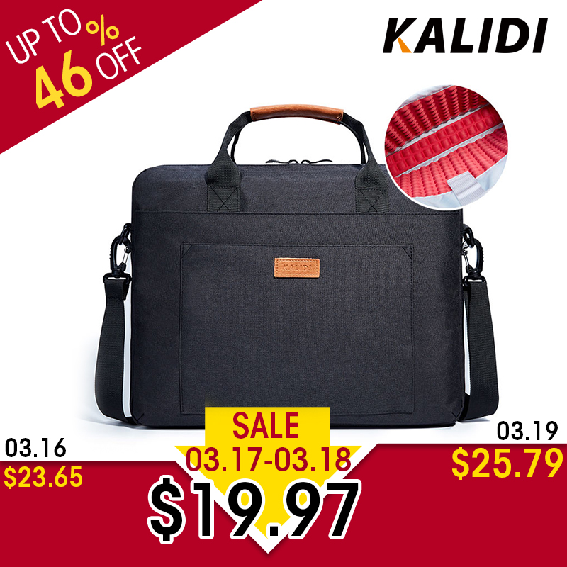 Borsa per laptop KALIDI 13.3 15.6 Borsa per notebook impermeabile - Accessori per notebook - Fotografia 1