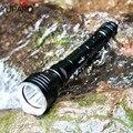 Yupard ныряльщик погружение 100 м глубина подводная вспышка светильник водонепроницаемый яркий фонарь XM-L2 светодиодный T6 белый фонарь желтый с...