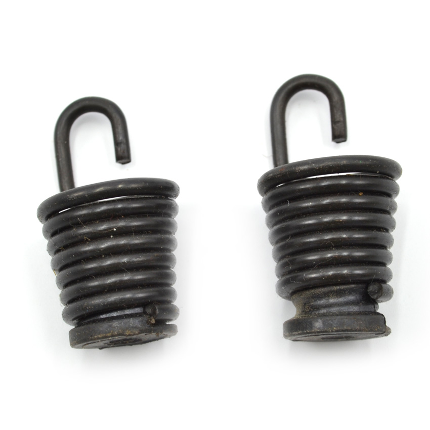2PCS Chainsaw Isolator Spring Small fit Partner 350 Poulan 2250 2450 2550 2555 220 260 Buffer Spring Short #530071958 pack of 10 fuel filter fit for poulan chainsaw 2050 2150 2375 weedeater craftsman trimmer chainsaw blower 530095646 8z709