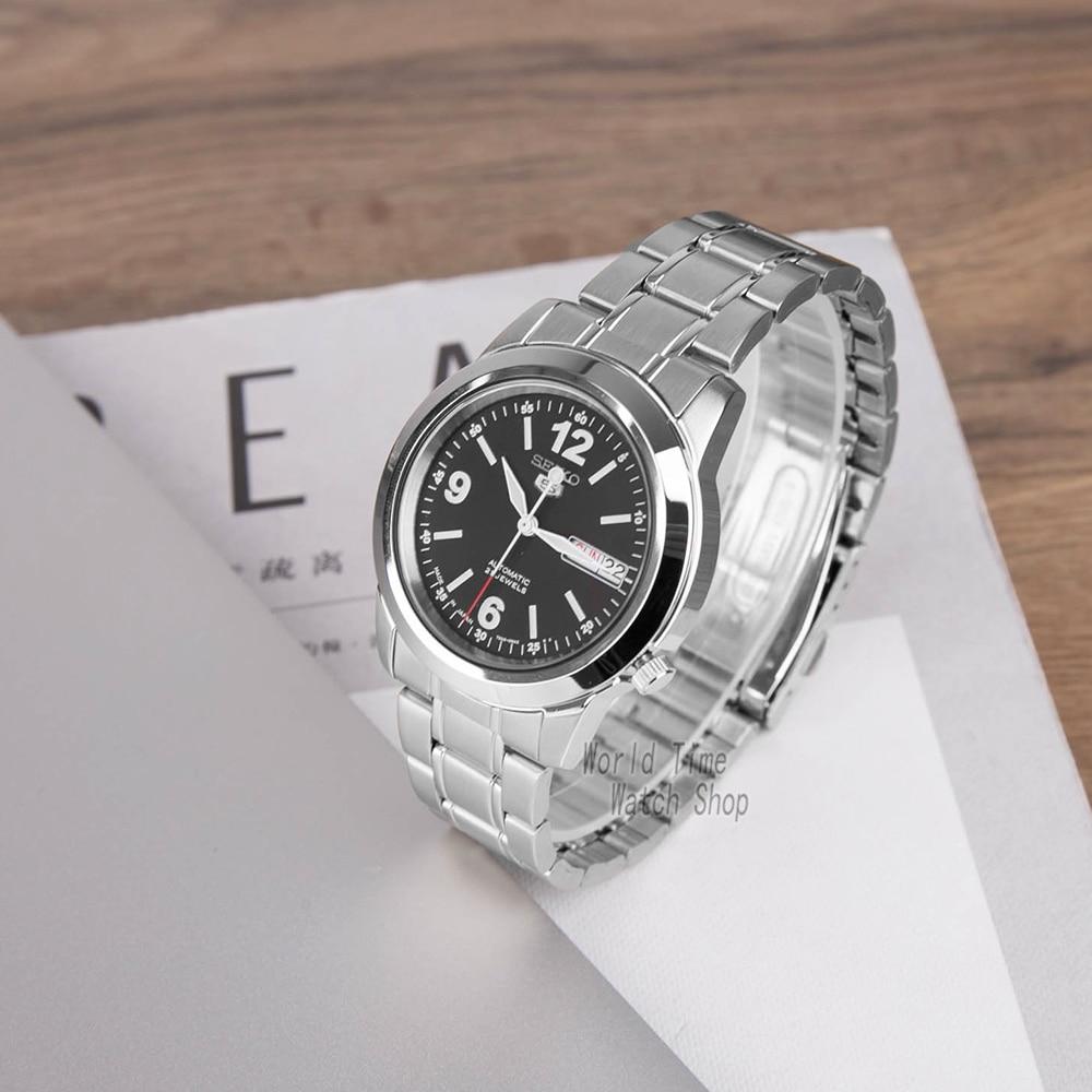 seiko watch men 5 automatic watch top brand luxury Sport men watch set waterproof mechanical military watch Relogio MasculinoSNK