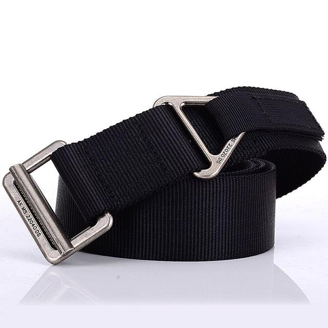 Hot Men Military Tactical Belt SWAT Army Training Belt Nylon 4.5cm Width Adjust Emergency Rigger Survival Waist Strap 100pcs 1