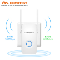 COMFAST 1200Mbps Wi-fi repeater 802.11ac WiFi Signal Verstärker Wireless Router Wi Fi Range Extender Erweitern Booster AP Roteador