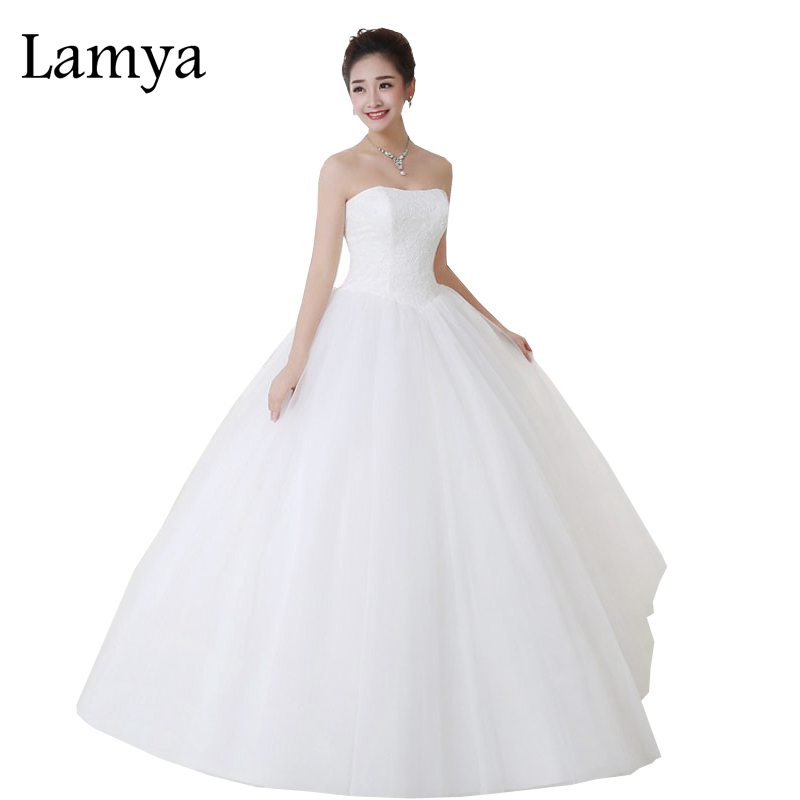Lamya New Gaun Perkahwinan Hamil Seks Vintage Bridal Ball Gown Dengan Sparkle Sequins Lace Edge Party Dress