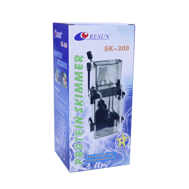 Aquarium Protein Separator Ultra-Silent Plug-in Protein Separator / Water Tank Hanging on Board SK-300 Small Separator