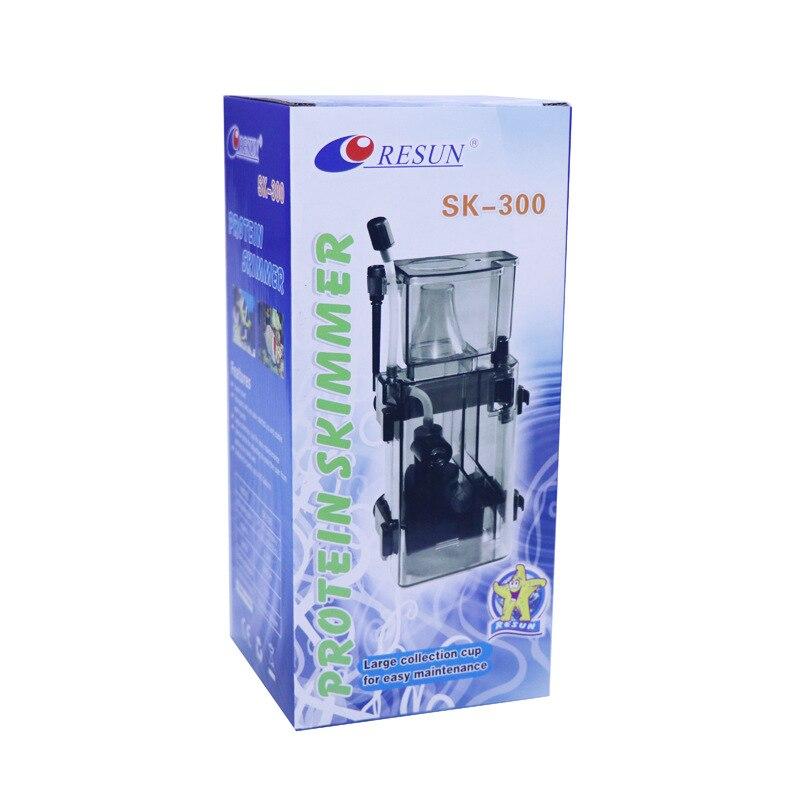 Séparateur de protéines d'aquarium séparateur de protéines enfichable Ultra-silencieux/réservoir d'eau SK-300 petit séparateur Akvaryum Malzemeleri