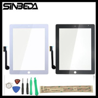 Sinbeda Touch Screen Replacement For Apple Ipad 3 4 A1416 A1403 A1430 A1458 A1459 A1460 Touch